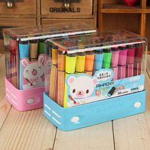 Color-Pencil-Box School-Supplies Student-Painting No with A-Seal Safe Non-Toxic Can-Be-Washed