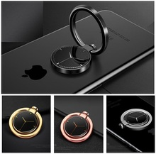 360 Rotate Ring Holder Luxury Metal Stand Finger Grip Skull Watch Universal for Ipad Iphone Samsung Xiaomi Huawei Tablet Smart