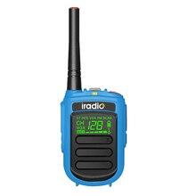 Buy Iradio DP-168 Digital Two Way Radio mini DMR uhf/vhf   walkie talkie PMR High Quality Woki Toki directly from merchant!
