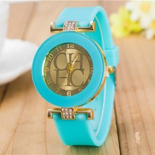 2019 New simple leather Brand Geneva Casual Quartz Watch Women Crystal Silicone Watches Relogio Feminino Wrist Watch Hot sale 2017 new hot sale 1pc women watches retro design leather band simple design analog alloy quartz wrist watch women relogio 07