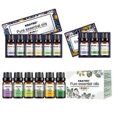 Эфирное масло для диффузор Ароматерапия масло увлажнитель 6 видов аромат лаванды, Чай дерево, розмарина, лимонника, оранжевый