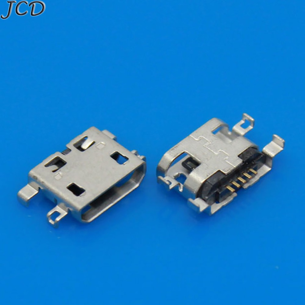 JCD 2-10pcs/lot For Lenovo S6000 S6000F Yoga 8 10 Tablet Micro USB Connector Charger Charging DC Port Jack Socket