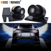 Car Angel Wings lights Motorcycle LED Ghost Shadow Light Logo Projector Laser LED Welcome Light for Passat b6 Ford Peugeot 206