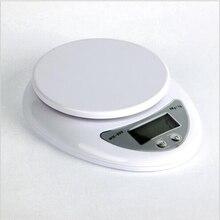 Wh-05 hogar Digital balanzas de cocina herramientas de cocina peso máximo 5 kg error de precisión 1 g balanzas electrónicas para el hogar