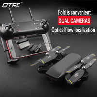 OTPRO D107 0.3MP/2MP 4k Rc Quadcopter with Camera Wifi FPV Foldable Selfie Drone Altitude Hold Headless Gesture Control TOYS