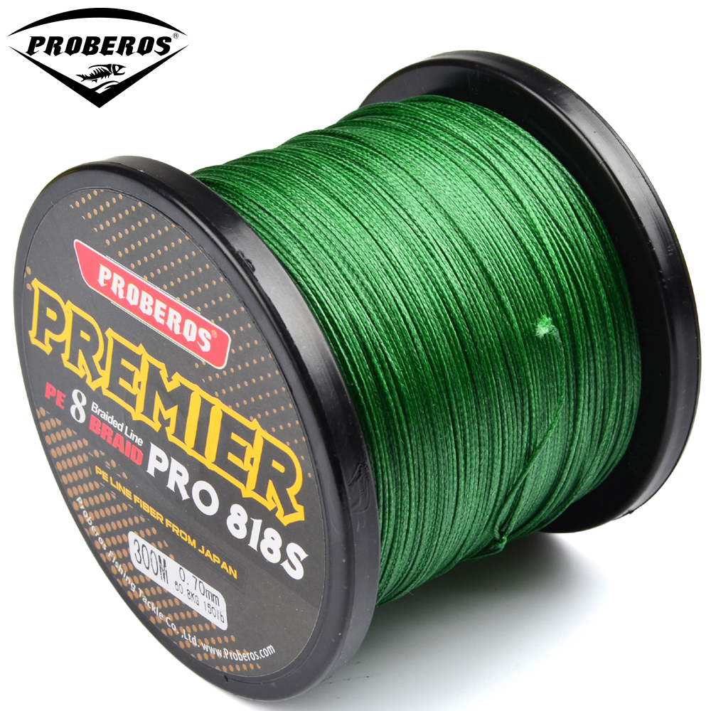 300m pe fishing line red green grey yellow blue 8 stands 8 for Red fishing line