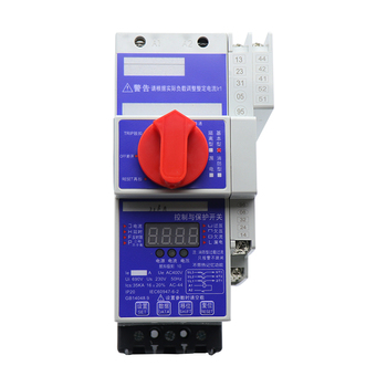 TK6-125 protector, 63A adjustable control and protection switch, KBO, fire type 125A