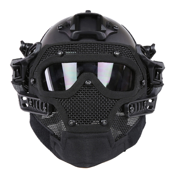 NFSTRIKE Steel Wire Protective FAST Helmet Suit for Nerf for Airsoft Tactics Military Helmet Outdoor Activity High Quality Black Harley-Davidson Sportster