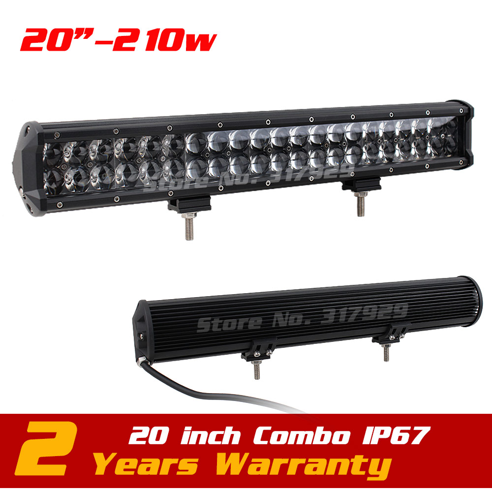 20inch 210w Spot Combo Lens Led Bar Light 12v 24v Tractor ATV Offroad 4WD Fog Light LED Worklight External Light VS 180W 9 90w led work light 12v 24v led drive light spot combo led lens motorcycle boat atv 4wd offroad fog lamp led worklight vs 120w