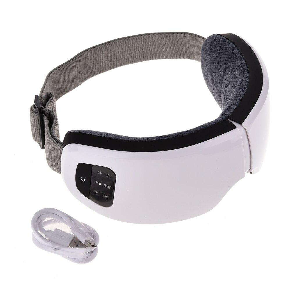 Masseur oculaire anti poches et Bluetooth vus du dessus
