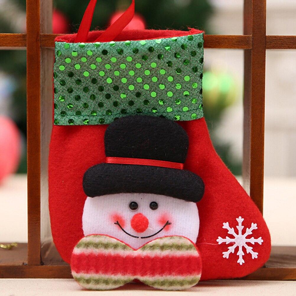 Kleine pailletten weihnachtsstrumpf weihnachten dekorationen Kinder ...