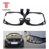 Taochis Car Styling frame adapter module DIY Bracket Holder for VW Volkswagen POLO 2013 Type Hella 3 5 Q5 Projector lens