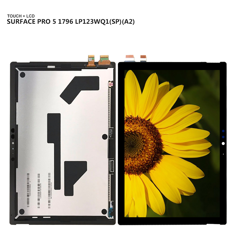 for-microsoft-surface-pro5-pro-5-model-1796-lp123wq1spa2-display-panel-lcd-combo-touch-screen-glass-sensor-replacement-parts