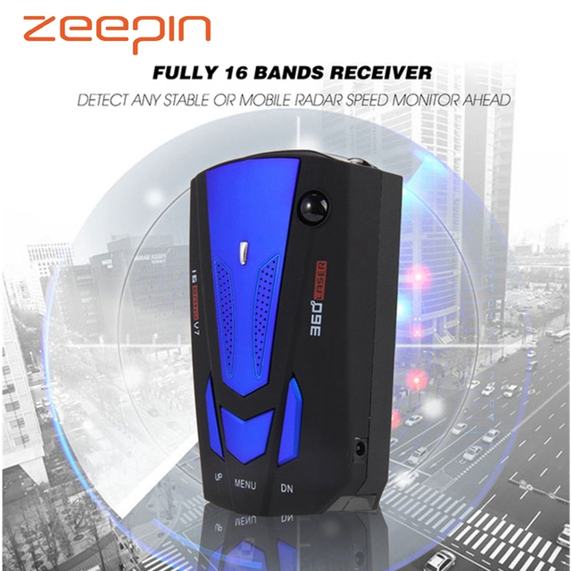 Zeepin Anti radar radar samochodowy detektor laserowy wykrywacz radarów rosyjski detektor samochodowy v7 prędkość głosu alert ostrzeżenie 16 wyświetlacz LED tanie tanio Stała prędkość przepływu 200m Detekcja sygnału radarowego Rosyjski angielski ZŁĄCZE USB 2 0 Styl samochodu Czujka kontroli prędkości