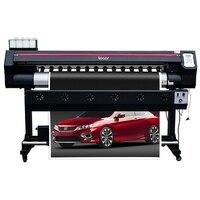 Impresora de gran formato 1600mm impresora eco solvente envío gratis impresora cartel flexión 1 6 m impresora de inyección de tinta un año de garantía