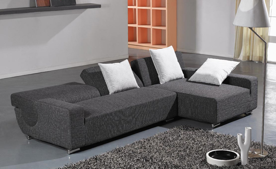 L Shaped Fabric Sofa 20 Best Collection Of