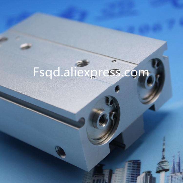 MHF2-20D Thin pneumatic finger Sliding cylinder air cylinder pneumatic component air tools MHF series se40 200 airtac thin cylinder air cylinder pneumatic component air tools se series