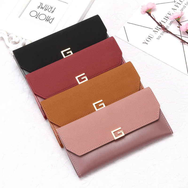52e1fd9c8616 Detail Feedback Questions about Latest Female Wallets Women Hasp ...