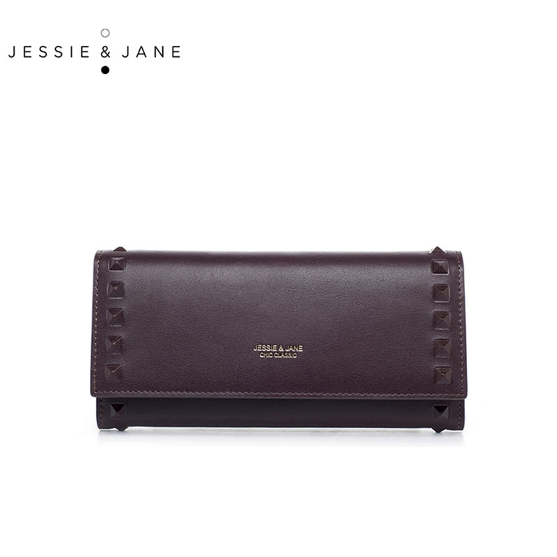 JESSIE&JANE New Simple Rivet Long Women