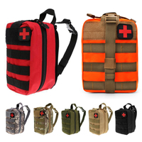 Mayitr Waterproof First Aid Bag Molle Medical EMT Cover Outdoor Hunting Emergency Military Pouch Utility Bag