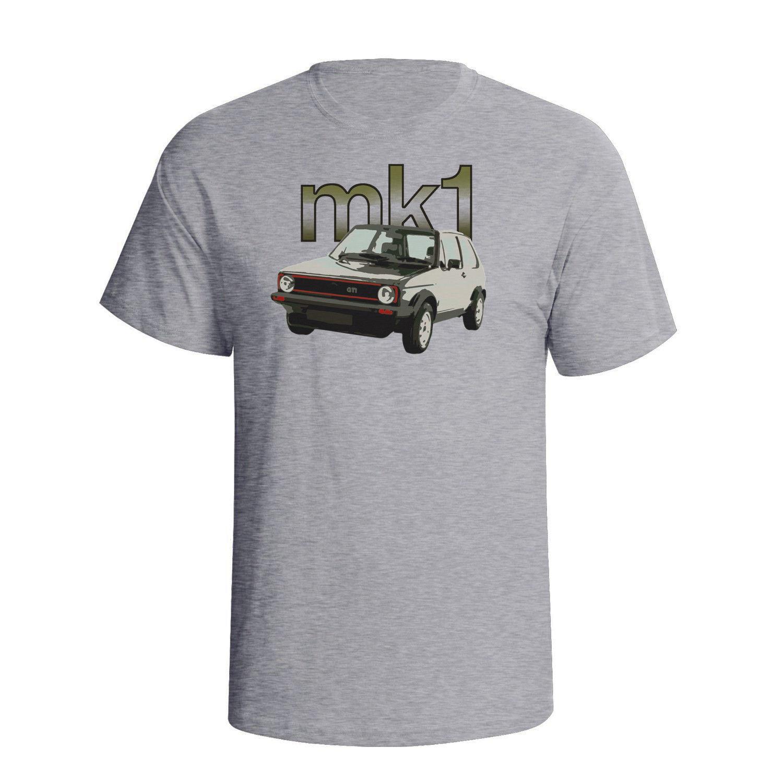 2018 New Fashion Cool Tee Shirt Golfs mk1 Fashion Japanese car fans Car Art Mens T-Shirt Custom T-shirt