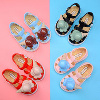 Summer Baby Girls Sandals Children Cute Kid Lovely Ice cream Little Princess Beach Shoes Good Sell Purity Antiskid Casual Shoes