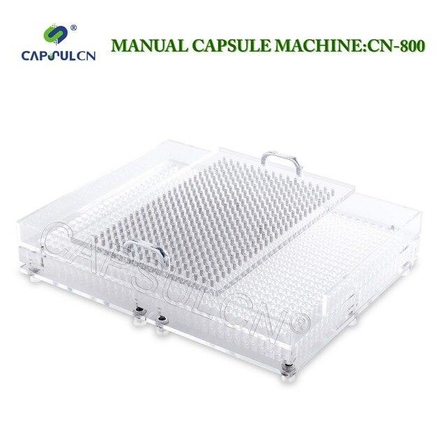 CN 800 000 # 4 # manuel kapsül dolgu kapsül dolum makinesi kapsülleme 800 delikli