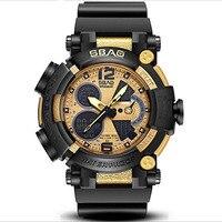 Multi function Electronic Watch Men's Sport Calendar Fashion Mailitery Business Retro Watches Erkek Kol Saati man