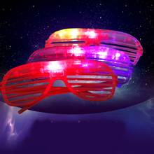 New Trendy 10pcs LED Party Lighting Glasses Led Neon cool  for Xmas Birthday Halloween Bar Costume Decor Supplies