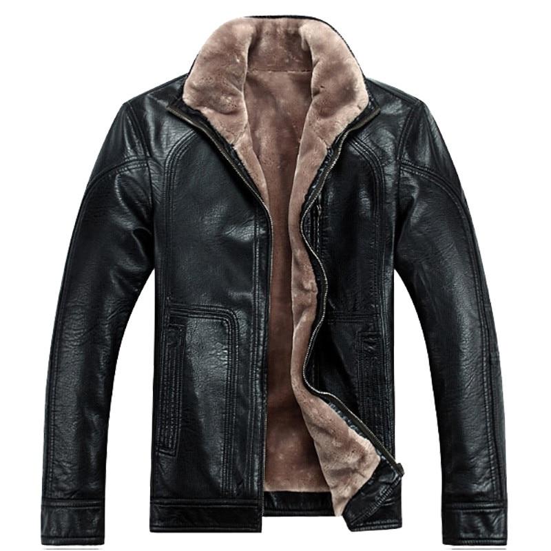무료 배송 뜨거운 판매 겨울 두꺼운 양 가죽 의류 - 남성 의류