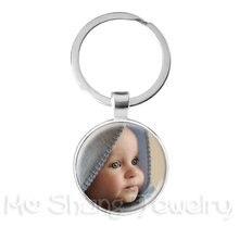 Брелок для ключей с фотографией мамы папы ребенка дедушки родителей