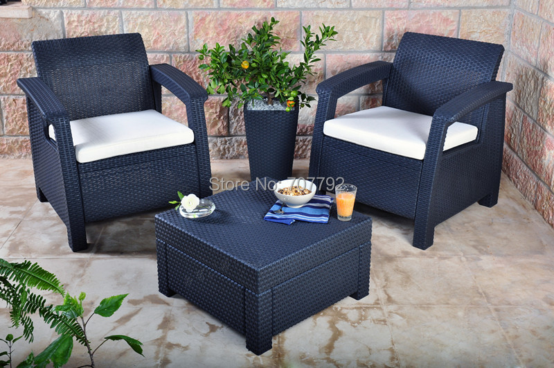 Outdoor Furniture Balcony Sofa Set