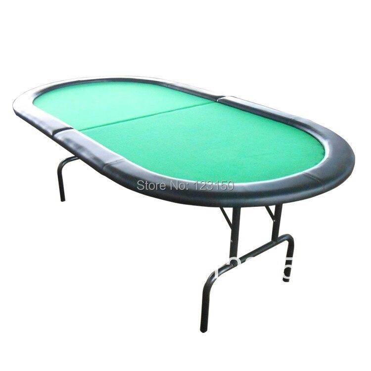 PT-001 Poker table with iron feet folding tables 208cm x 106cm