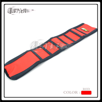 New Red And Black Rubber Motorcycle Gripper Soft Grip Seat Cover Moto Part For Honda CRF450R