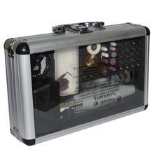 цена на 220V 80PCS/SET Electric Drill Dremel Grinder Engraving Pen Grinder Mini Drill Electric Rotary Tool Grinding Machine