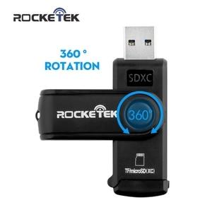 Image 4 - Rocketek usb 3.0 multi speicher kartenleser OTG typ c android adapter 5 Gbps kartenleser für micro SD, TF microsd leser computer