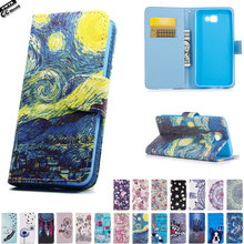 Flip Case for Samsung Galaxy J5 Prime J 5 Prime SM-G570F/DS SM-G570F TPU Case Phone Leather Cover for On5 2016 SM G570F/DS G570F