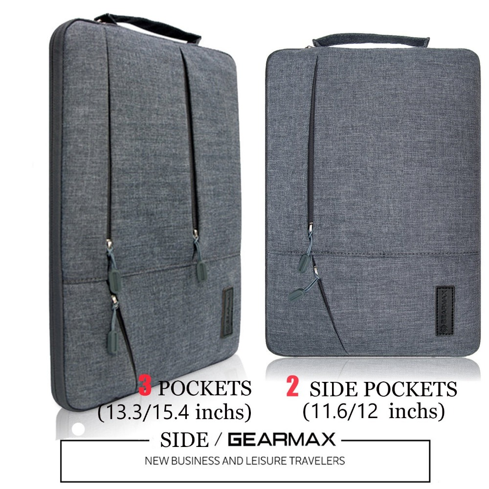 Gearmax Laptop Bag 15 6 Notebook Sleeve Case 13 3 Waterproof Neoprene For Macbook Air Pro 11 12 14 Acer Dell In Bags Cases From