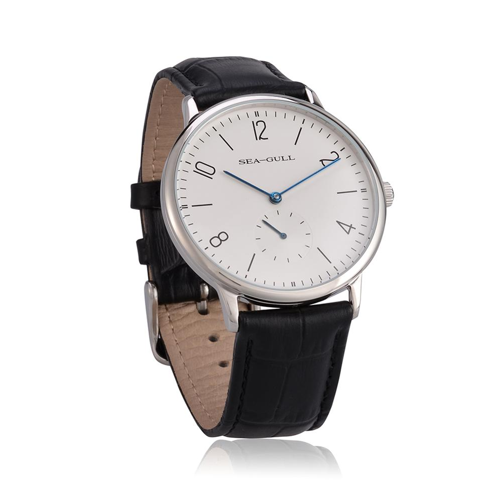 Seagull Watches D819.612 Ultra Thin 8mm Hand Wind Men's Watch High Quality Top Brand Wrist Watch For Men