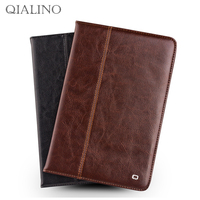 For IPad 2 3 4 9 7 Tablet Case Cover Genuine Leather Stents Dormancy Stand Card
