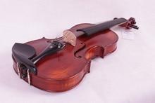5 string 4/4 Violine Ebenholz teile Flamme Ahornboden Antike Lack Fichte Master Leistungsstarke Sound Pro + 506 #