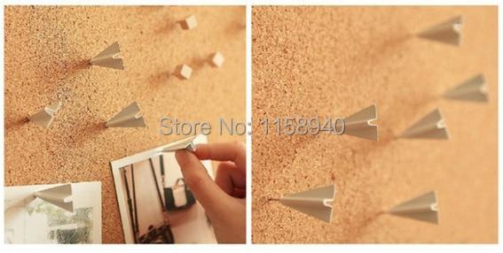 12pcs/lot airplane push pins thumb tacks paper memo tachuelas ...