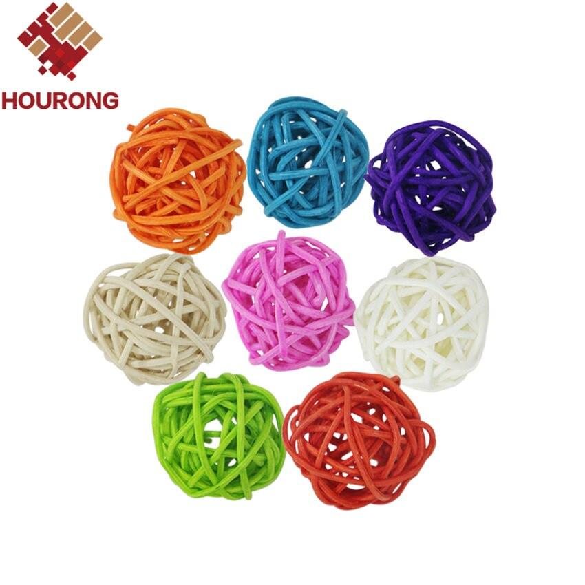 декоративные ротанга шары