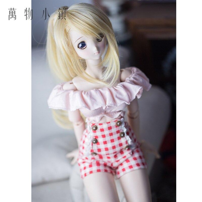 d14be62114be 4 Doll Pizzo Vestito2 Rosa 1 3 Sd Top Falbala Alta Vita Del Sexy PzBjd  Vestiti ...