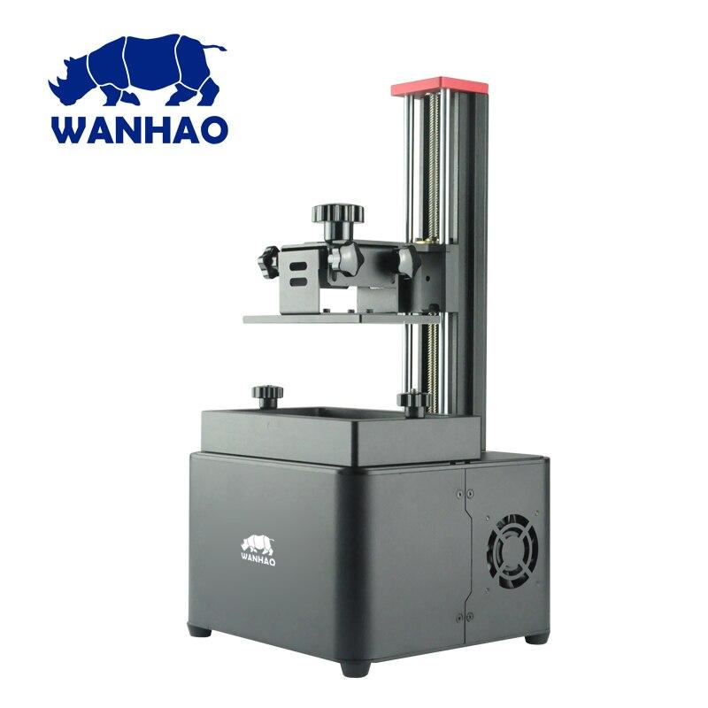 Wanhao D7 V1.5 imprimante UV résine 3D imprimante SLA DLP 3D imprimante seulement $369 avec 250 ml résine cadeau pas cher de haute qualité