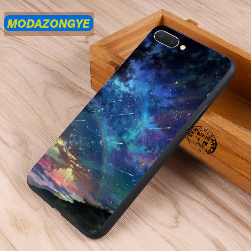 OPPO A5 Case 6.2 inch Luxury Painted Soft TPU Mobile Phone Case Back Cover For Oppo A5 OPPOA5 A 5 Case Silicone Fundas