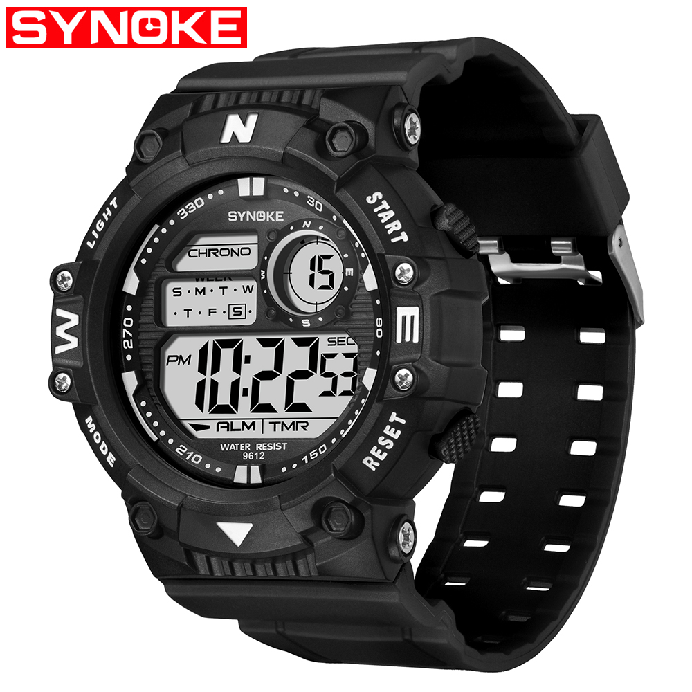 Sports Men's Digital Watch Waterproof Stopwatch Date Rubber Outdoor Luminous Wrist Watches Alarm Man Wrist Electronic Clock