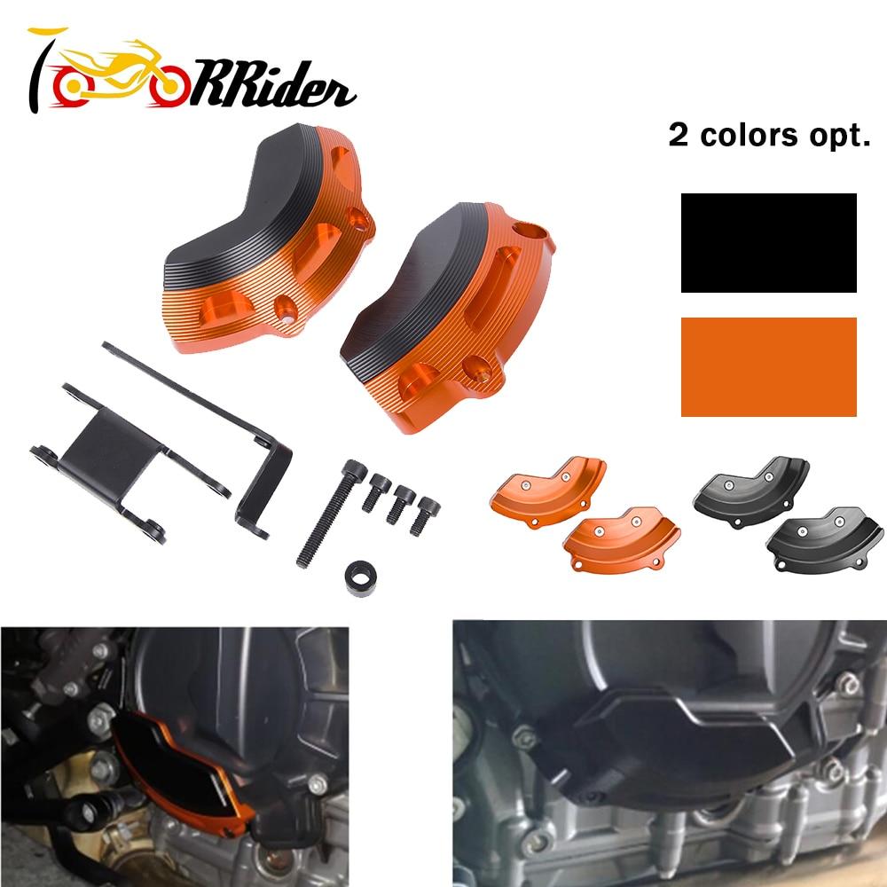 for KTM 790 Duke 2018 2019 Engine Stator Slider Case Guard Cover Protector Set Motorcycle Accessories Parts 18 19 Duke 790