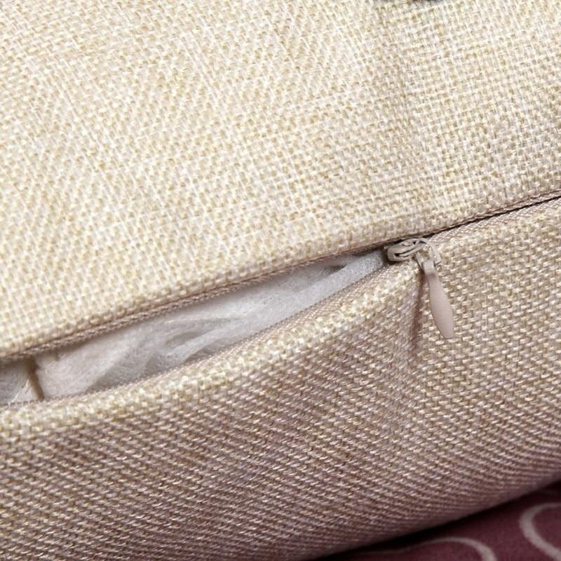 Купить с кэшбэком Maiyubo 2018 Cartoon Cat  Animal Square Pillow Case Cushion Cover Cotton Linen Bed Sofa Throw Pillow Cover Kids Toy Series PC077