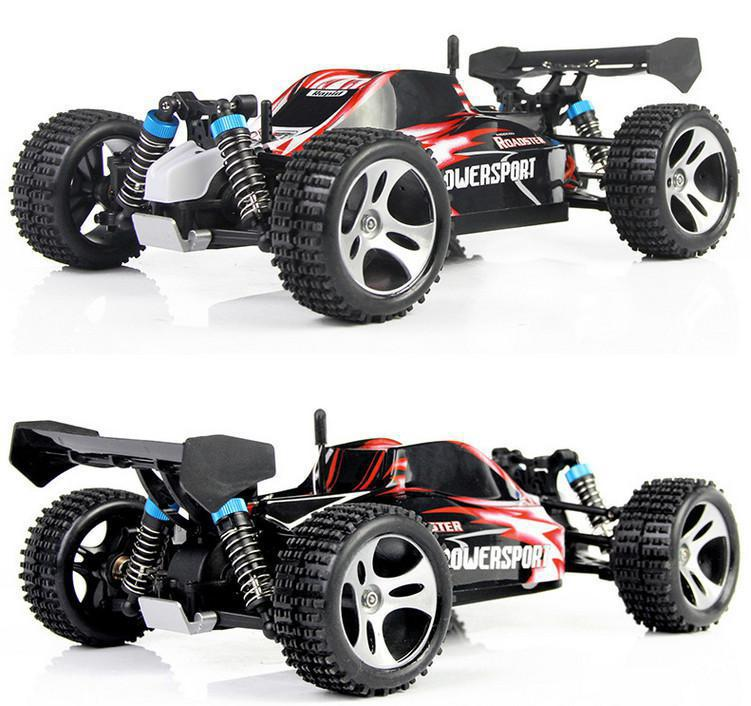 2014 New Wltoys A959 RC Car 1:18 2.4Gh Remote Control Toys 4WD Off Road RC Drift Car Buggy Remote Control Car faster than L959 wltoys l959 2 4g 1 12 off road scale remote control rc racing motor car